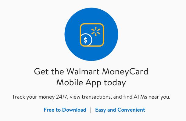Check Balance | Walmart MoneyCard Mobile App
