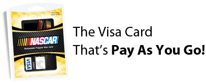 The Visa Card That's Pay As You Go!
